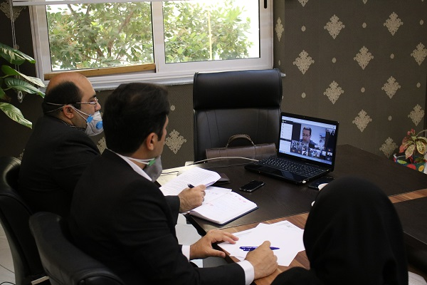مشارکت فعال مدیران و کارشناسان حوزه بازآفرینی شهرداری ساری در کارگاه آموزشی بازآفرینی به شکل مجازی